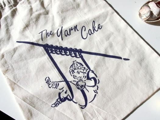 'Yarn Cake' Commission detail Georgia Green