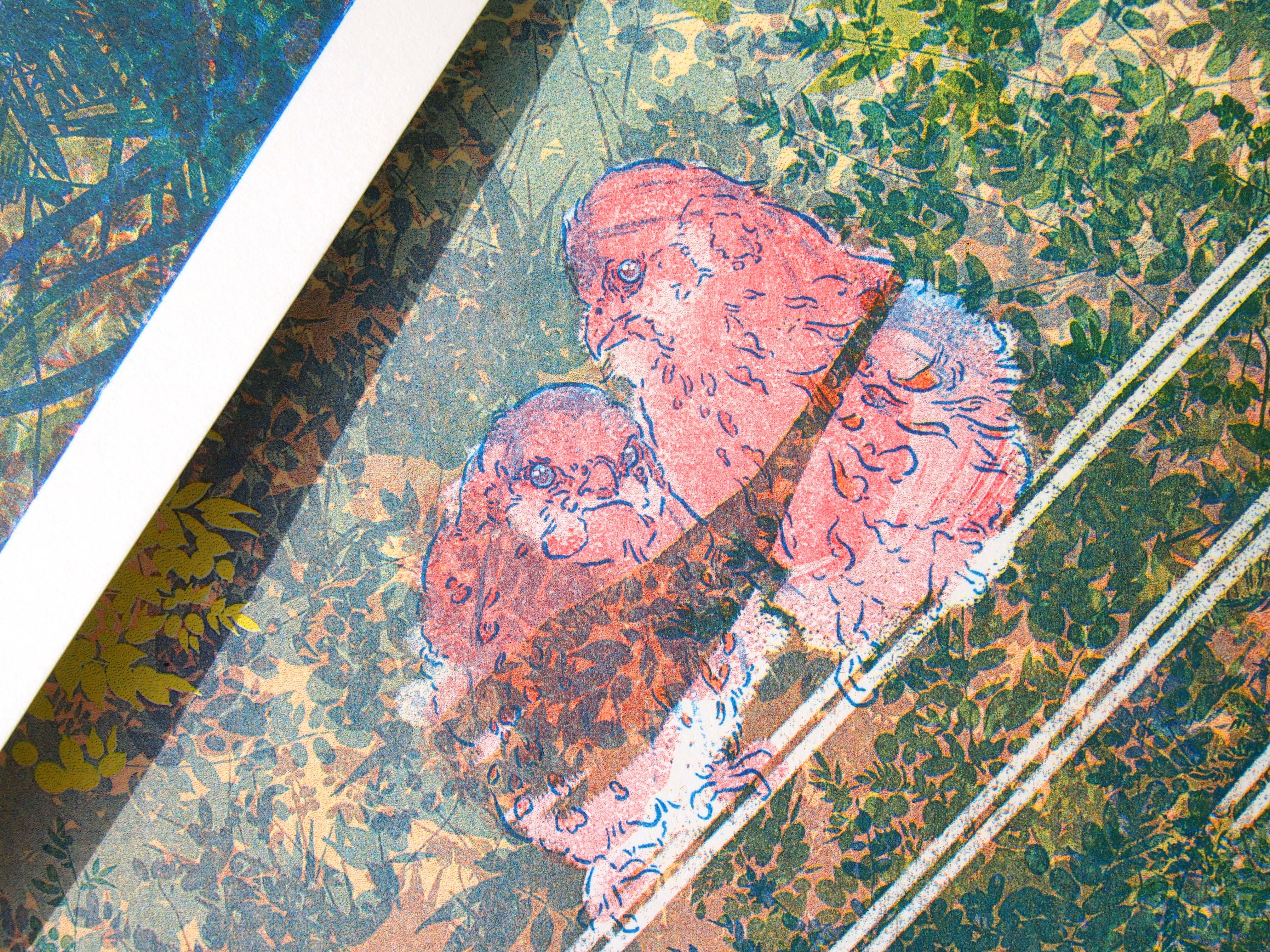 Mousehold Heath Palette Georgia Green
